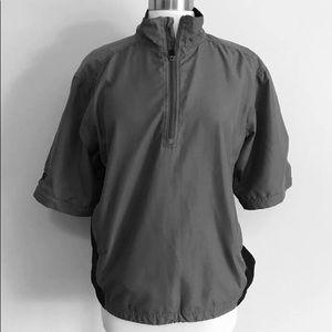 PING  short sleeved windbreaker Pullover jacket/XL